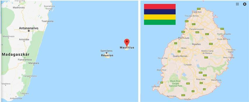 Első napunk Mauritiuson