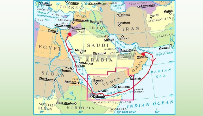 Adeni öböl - Gulf of Aden