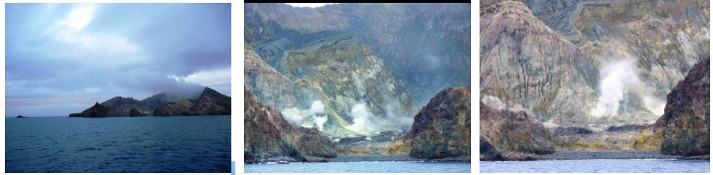 Tengeri nap és White Islands